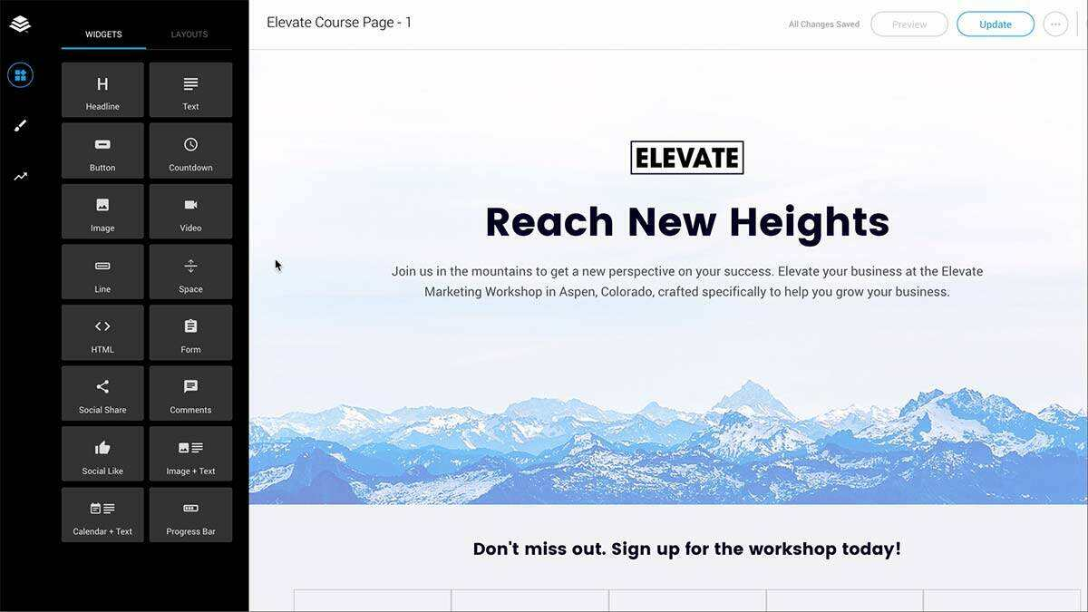 Cheap Landing Page Builder Using LeadPages
