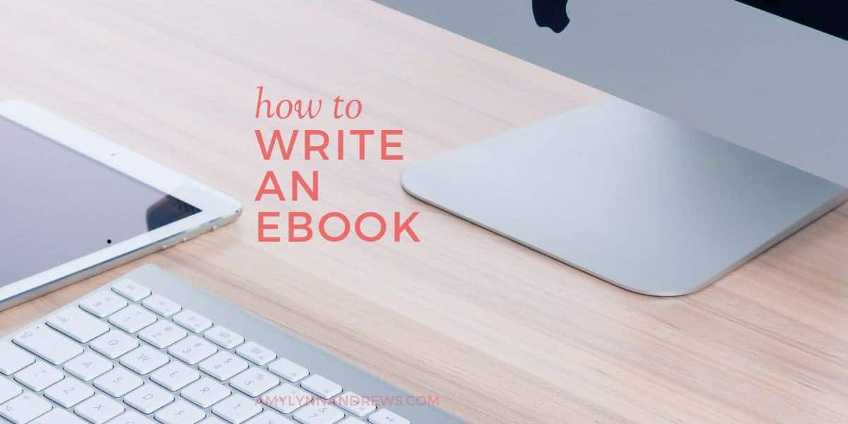Write An eBook And Make 50 Dollars A Day Online