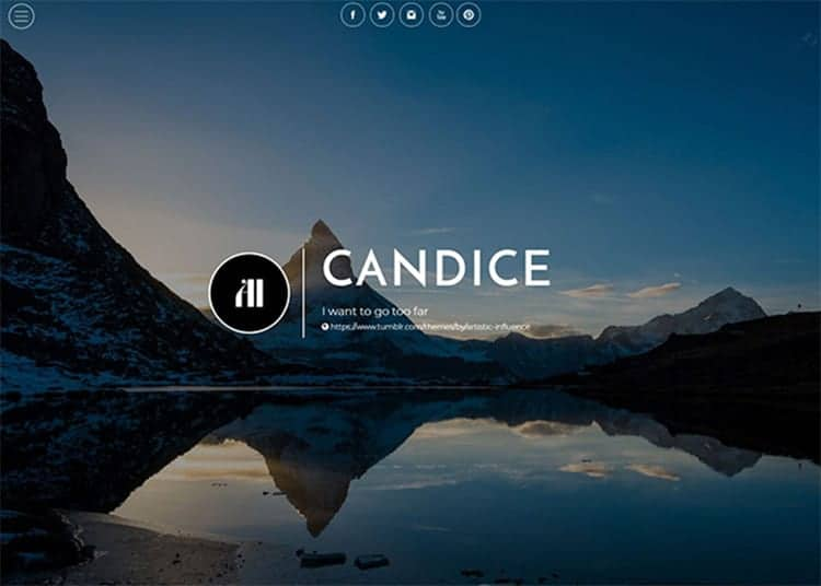 Candice Tumblr Theme